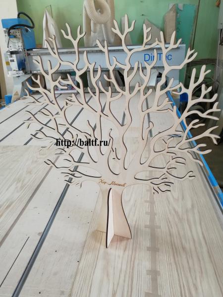 Фрезерная резка дерева